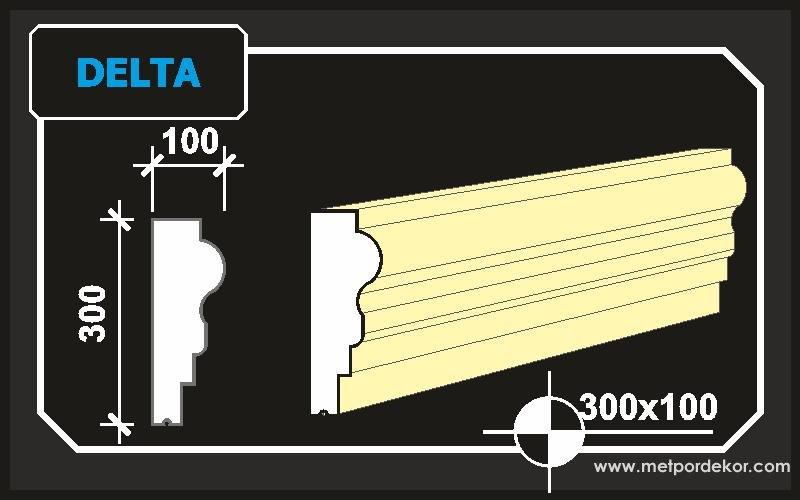 Saçak Profilleri - Delta Modeli