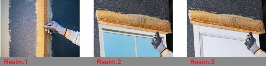 Mantolama Uygulamasında PVC Fileli Köşe Profili Nasıl Uygulanır? Resimlerle Detaylı Anlatım