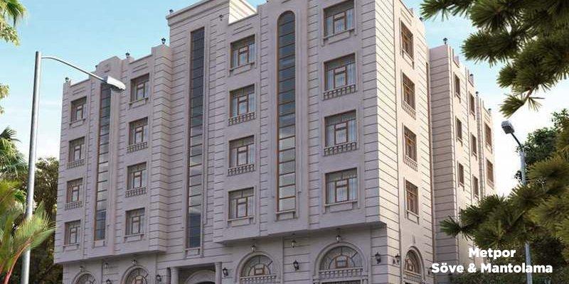 Bina Dış Cephe Taş Kaplama