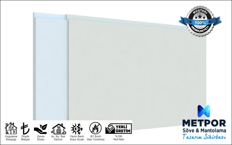 5 cm Dış Cephe Mantolama Panelleri Strafor