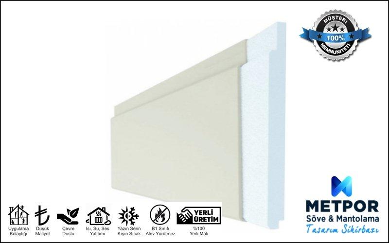 Fugalı Isı Yalıtım Paneli 4cm, Hazır Dekoratif Mantolama 4 cm
