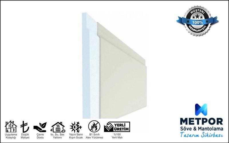 3 cm Fugalı Isı Yalıtım Levhası, 3 cm Mantolama Paneli Fugalı